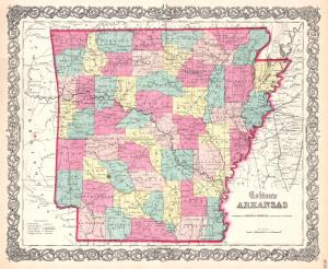 1859_Colton_Map_of_Arkansas_-_Geographicus_-_Arkansas-colton-1860